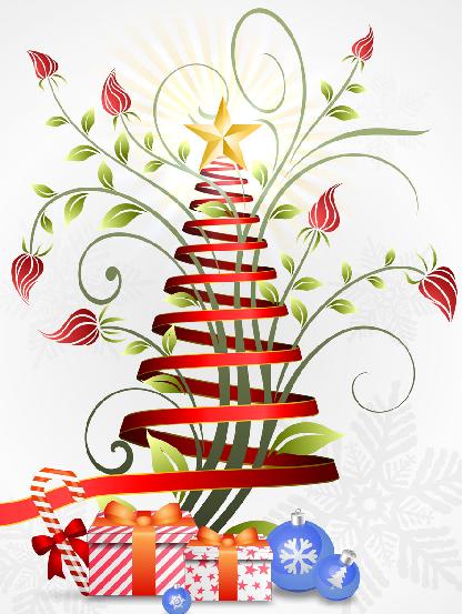 Holiday party tree